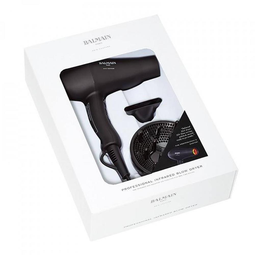 Professional Infrared Uscator de par Negru
