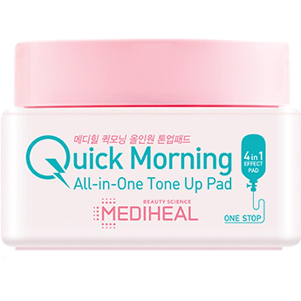 Quick Morning All-in-One Tone Up Toner de fata dischete 58 gr 30 buc