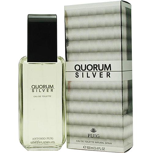 Quorum Silver Apa de toaleta Barbati 100 ml