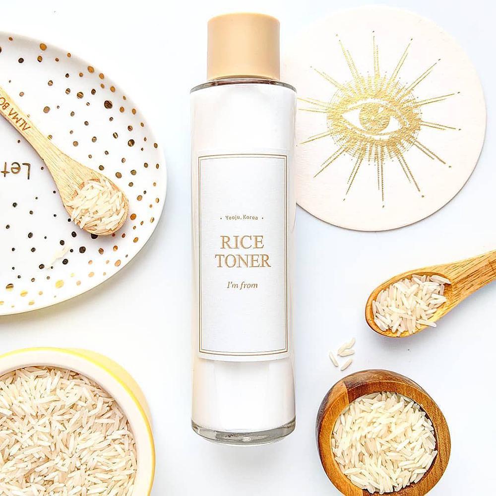 Rice Toner de fata Femei 150 ml