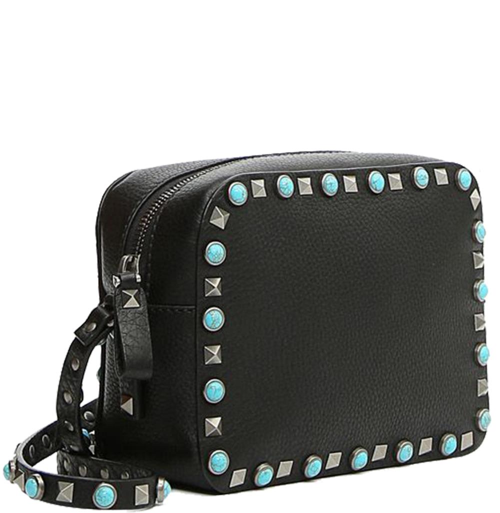 Rockstud Rolling Cross Bag