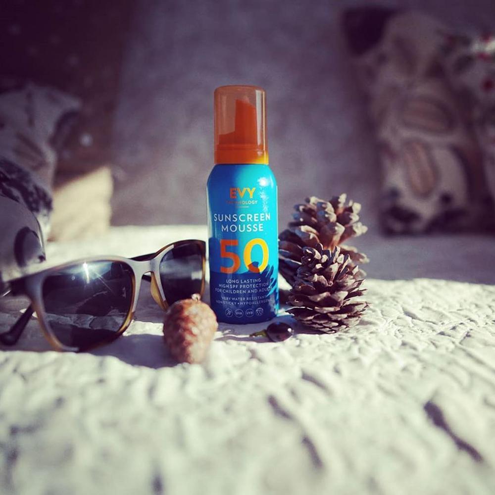 Sunscreen Mousse Crema de fata si corp spuma cu SPF 50 Unisex 100 ml