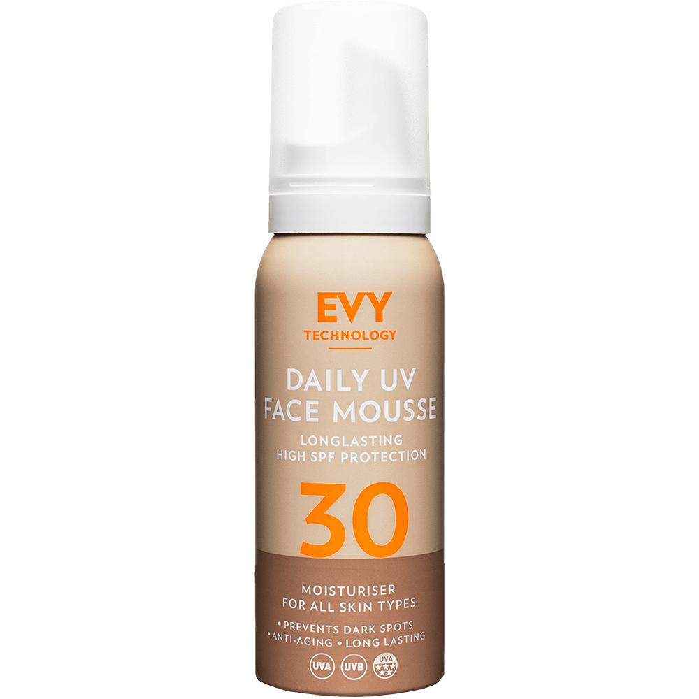 Sunscreen Mousse Daily UV Crema de fata spuma cu SPF 30 Unisex 75 ml