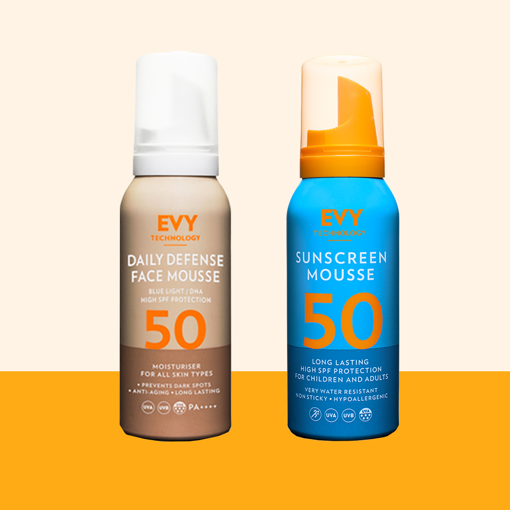 Sunscreen Mousse Set