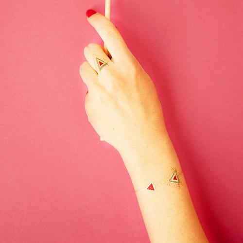 Tatuaj temporar Deco Deco rezistent la apa Femei