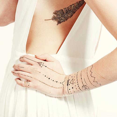 Tatuaj temporar Golden Age rezistent la apa Femei