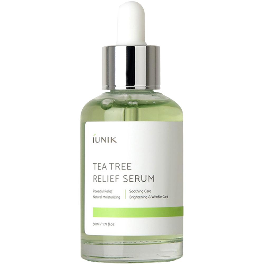 Tea Tree Relief Ser de fata calmant si hidratant 50 ml