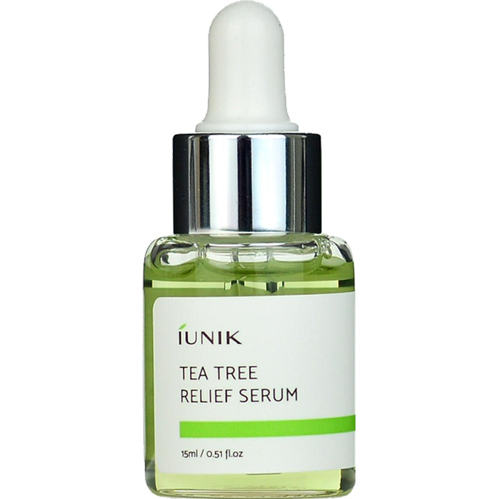 Tea Tree Relief Ser de fata calmant si hidratant Femei 15 ml