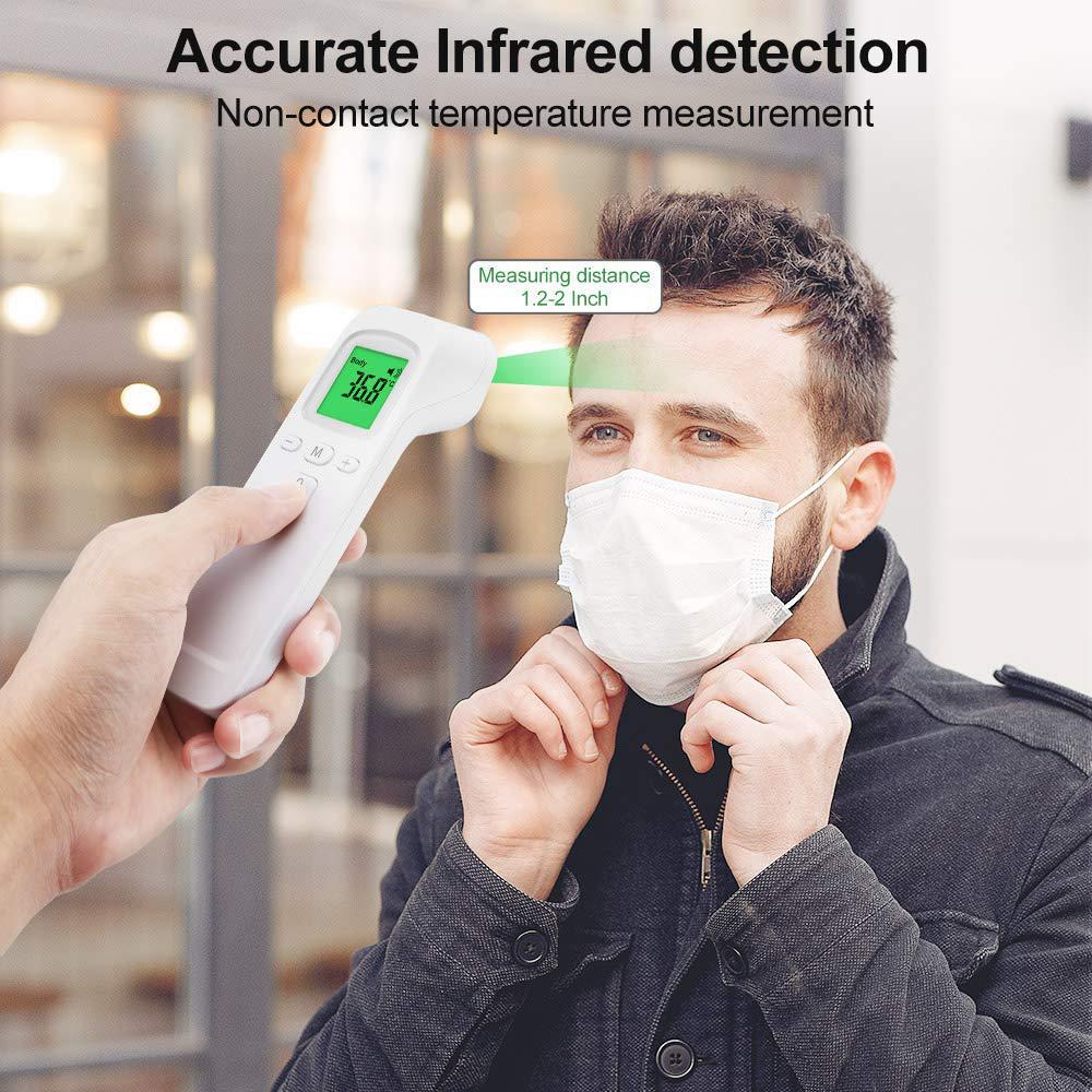 Termometru cu infrarosu pentru frunte FTW