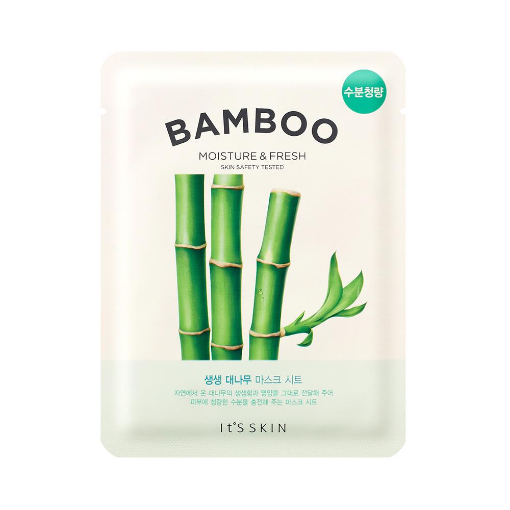 The Fresh Masca de fata nutritiva cu extract de bambus Set 10 Buc 18 gr