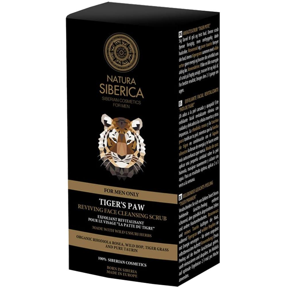 Tiger'S Paw Gel de curatare exfoliant Barbati 150 ml