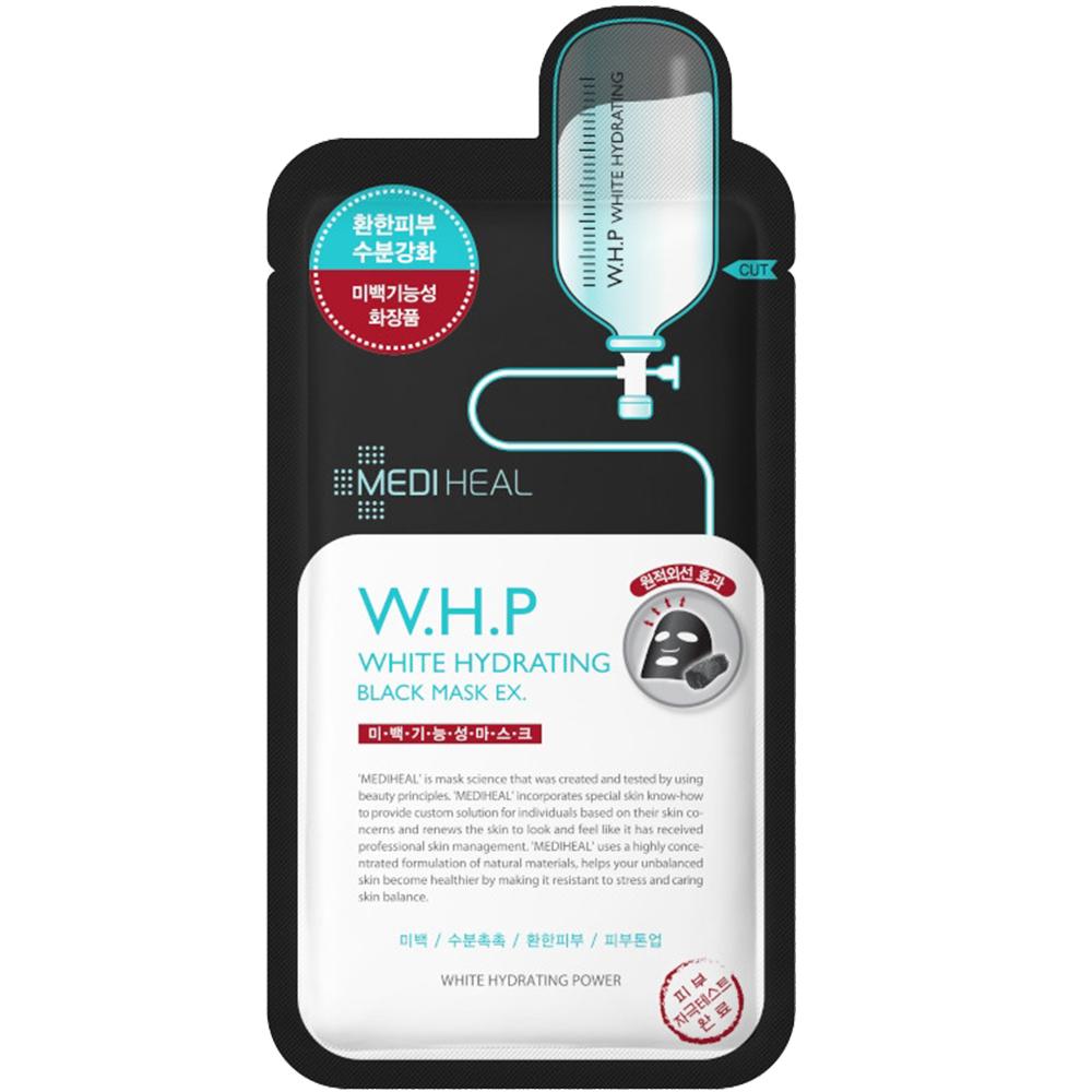 W.H.P White Hydrating Masca de fata neagra pentru iluminare si hidratare 24 ml