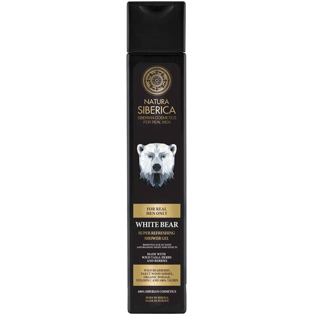White Bear Gel de dus revigorant 250 ml
