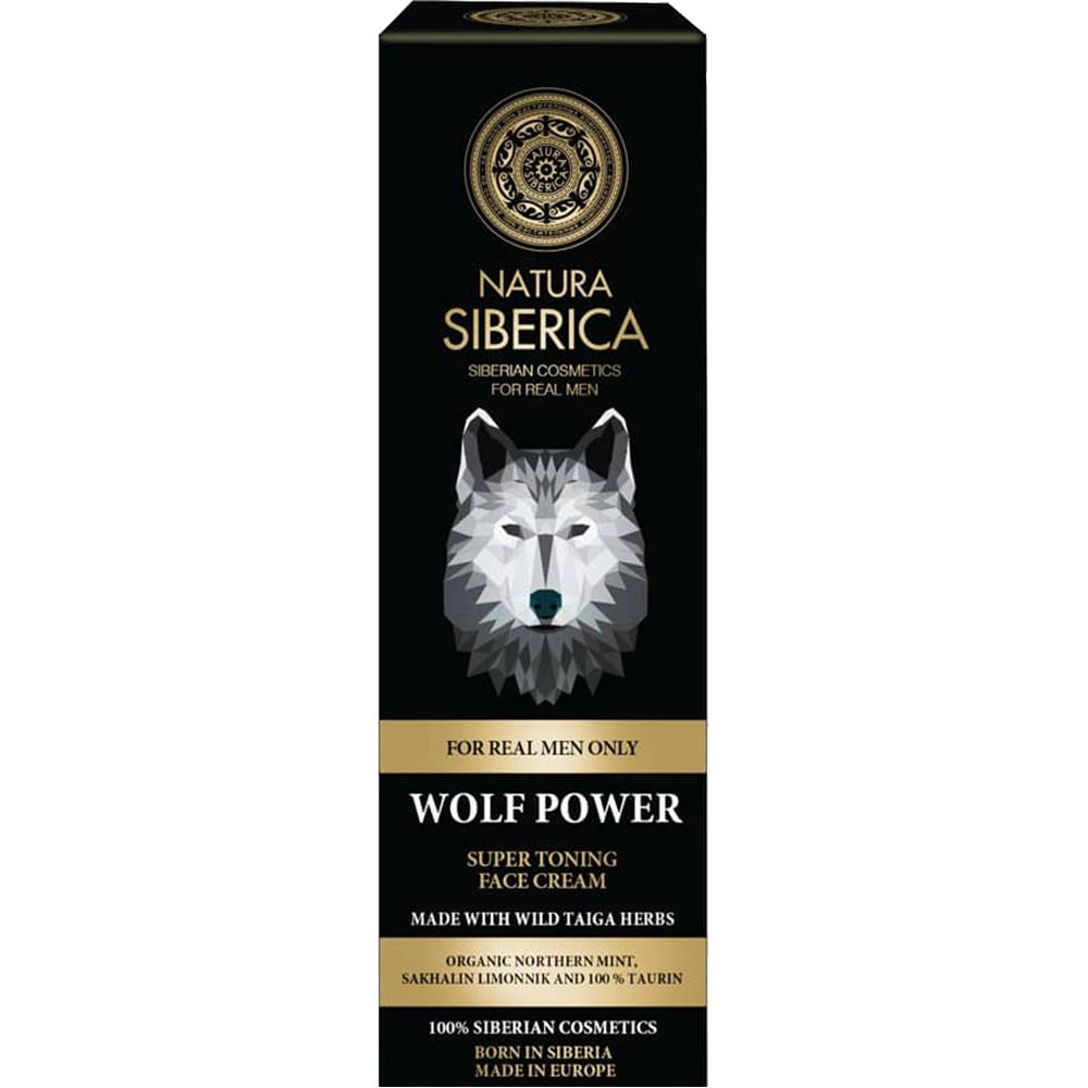 Wolf Power Crema de fata tonifianta Barbati 50 ml