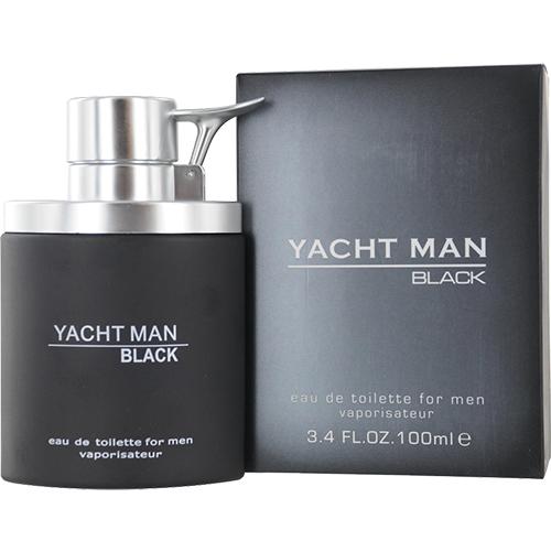 Yacht Man Black Apa de toaleta Barbati 100 ml