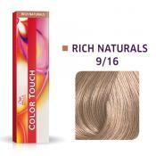 Color Touch Vopsea Semipermanenta 9/16 Very Light Blond/Violet Ash