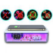 Cutie Cu Lampa Bactericida Virucida UVC+ Incarcator Wireless 15W