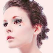 Gene Aplicabile Polka Dot Pop negru, de hartie Femei