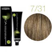 Inoa Vopsea de par 7.31 Golden Ash Blonde