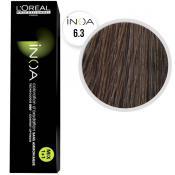 Inoa Vopsea de par permanenta fara amoniac 6.3 Dark Golden Blonde Fundamental