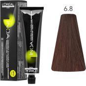 Inoa Vopsea de par permanenta fara amoniac 6.8 Dark Blonde Mokka