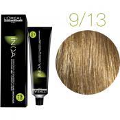 Inoa Vopsea de par permanenta fara amoniac 9.13 Very Light Golden Blonde