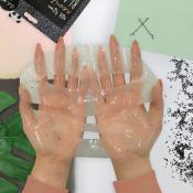 Black Sesame Hydrogel Masca de fata cu efect revitalizant Unisex