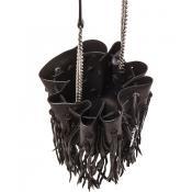Monogramme Fringe Bucket Bag