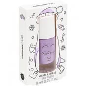 Piglou Lac de unghii pe baza de apa pentru copii Purple Glitter