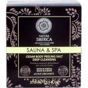 Sauna & Spa Sare exfolianta cu cedru pentru corp Femei 370 ml