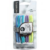 Set elastice de par, 6 bucati, Multicolor