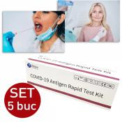 Test Rapid Covid Antigen 5 bucati