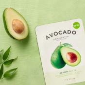 The Fresh Masca de fata nutritiva cu extract de avocado Set 10 Buc 19 gr