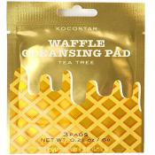 Waffle Dischete demachiante cu extract de Arbore de Ceai