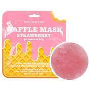 Waffle Mask Masca de fata Strawberry esenta gel cu extract de capsune, vitaminizanta 40 gr